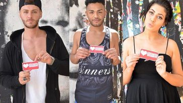 Geordie Shore stars get the Hollywood Treatment