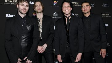 5 Seconds Of Summer's Ashton Irwin Says Promoting New Album 'CALM ...