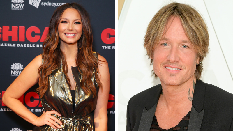 Ricki Lee Coulter and Keith Urban