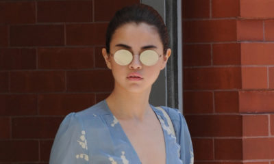 Selena Gomez Googles herself to look back on her outfit choices