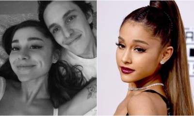 Ariana Grande is engaged to Dalton Gomez!  💍